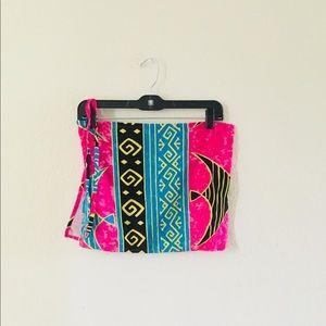 Swimsuit skirt coverup